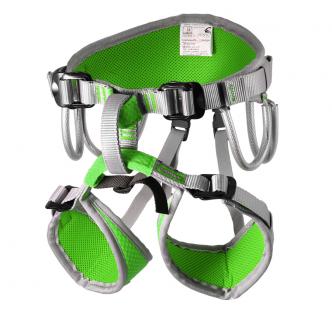 Детская скалолазная беседка «Маугли» - Зеленый