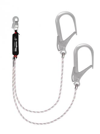 Строп веревочный двойной нерегулируемый с амортизатором «аВ22 110»