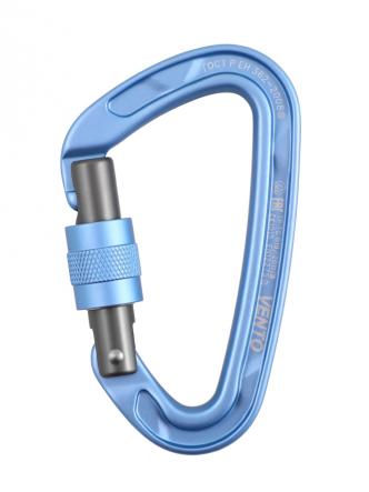 Карабин «Oxygen» с муфтой keylock - Синий