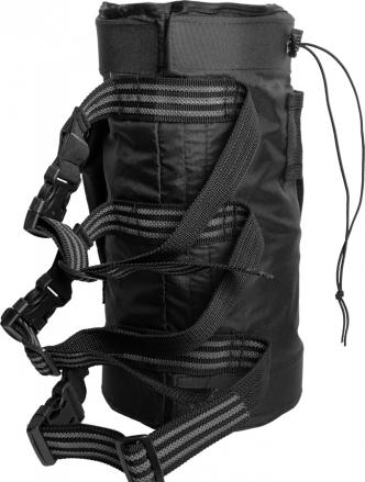 Сумка для веревки на ногу «V2» - 9л, Чёрный