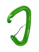 Скалолазный карабин «Light» со скобой - Дюраль, Зеленый