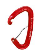 Скалолазный карабин «Light» со скобой - Дюраль, Красный