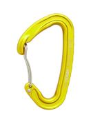 Скалолазный карабин «Light» со скобой - Дюраль, Желтый